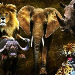 5 Savannedyr