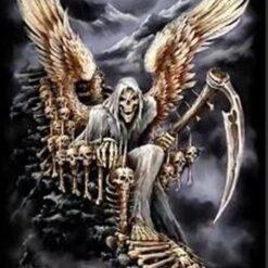 Døden med vinger - Diamond Paint
