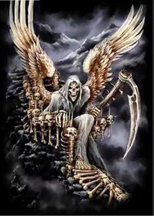 Image of Døden med vinger