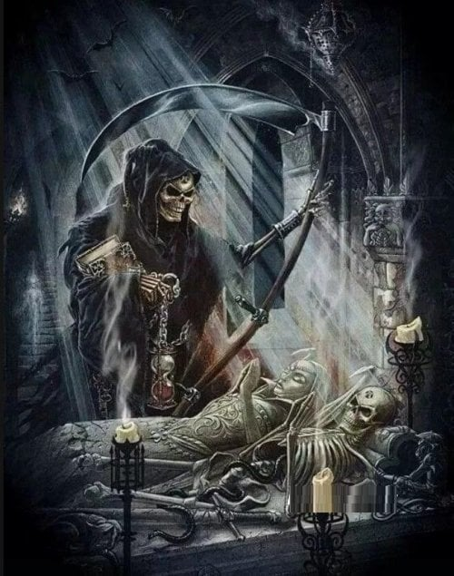 Døden og 2 skeletter thumbnail