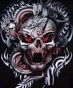 Kranier, skeletter og uhyrer