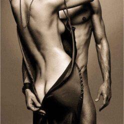 Erotisk mand og dame - Diamond Paint