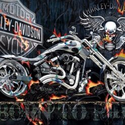 Harley - diamond paint