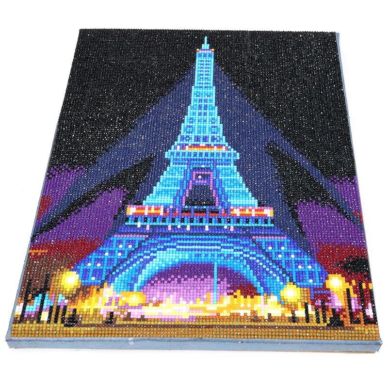 Image of Billede af Eiffeltårnet med LED lys