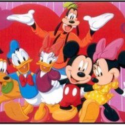Mickey, Anders Fedtmule - Diamond Paint