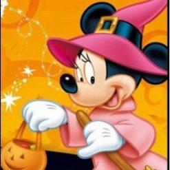 Minnie som heks - Diamond Paint