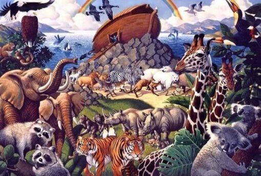 Noahs ark - Diamond Paint