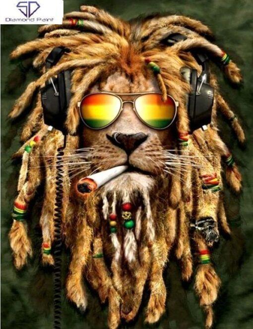 Rasta løve