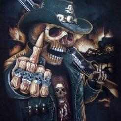 Skelet fuck you - Diamond Paint
