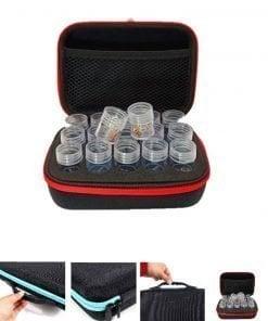 Taske med 15 bøtter - Diamond Paint