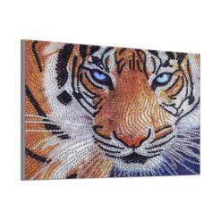 Tiger i Diamond Paint