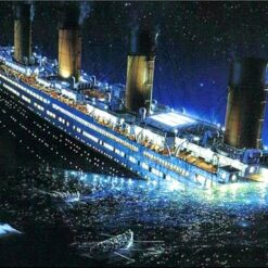 Titanic synker - Diamond Paint