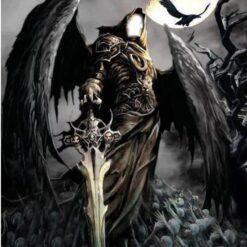 Uhyre med vinger - Diamond Paint