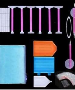 Værktøjssæt med taske til Diamond Paint