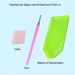 Værktøj til Diamond Paint ur - Diamond Paint