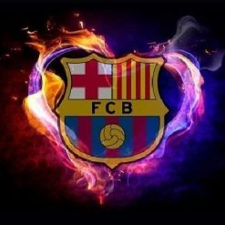 FC Barcalona logo- Diamond Paint