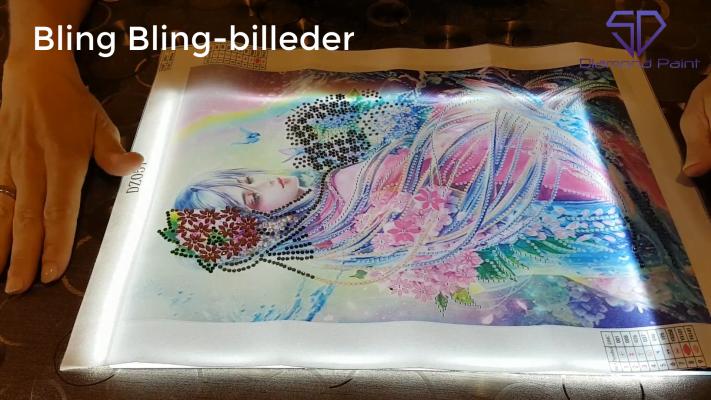 Hvad er Bling Bling-billeder i diamond paint?