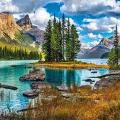 Landskab med bjerge - Landskab med Bjerge