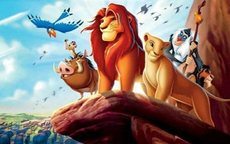 Løvernes konge - diamond paint