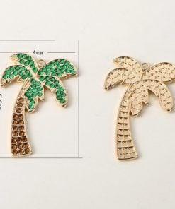 Halskæde med palme størrelse - Diamond Paint