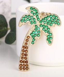 Halskæde med palme - Diamond Paint
