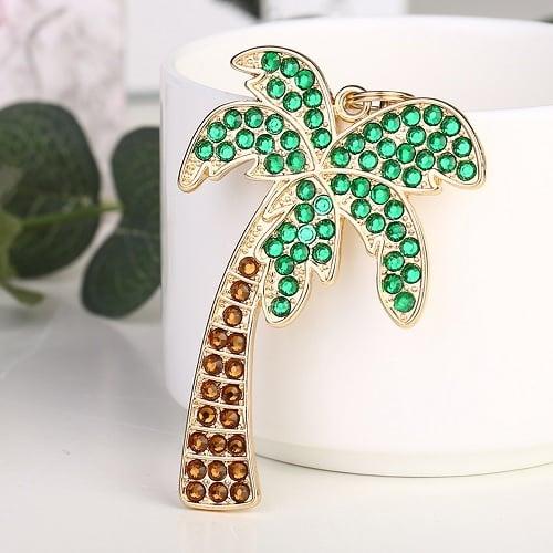 Diamond Painting - Halskæde med palme - Bling Bling thumbnail