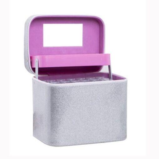 Sølv boks med 126 bøtter - Diamond Paint