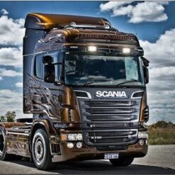 Scania lastbil - Diamond Paint