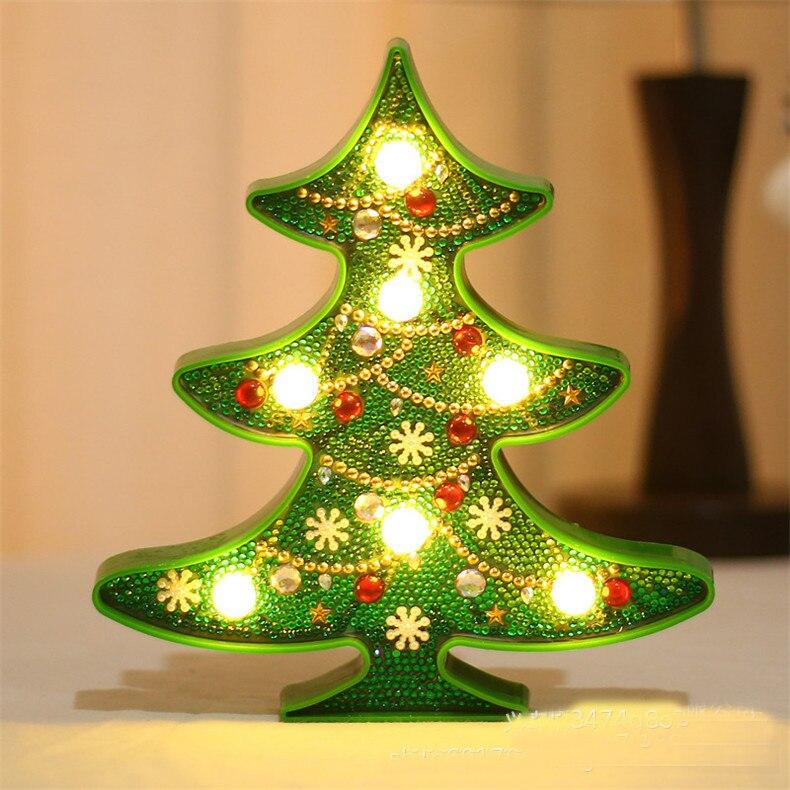 Billede af Juletræ med lys