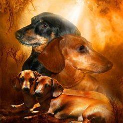 Gravhunde - Diamond Paint