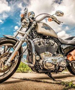 Harley Davidson - Diamond Paint