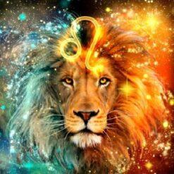 Stjernetegn Løve - Diamond Paint