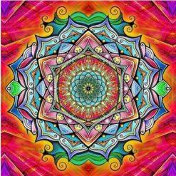 Mandala i diamond paint