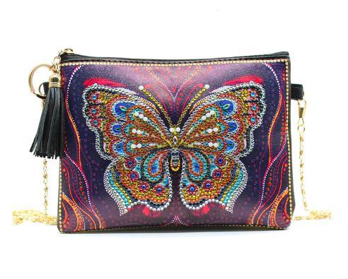 Taske med sommerfugl