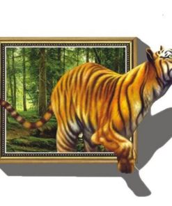 Tiger ud af skov - Diamond Paint
