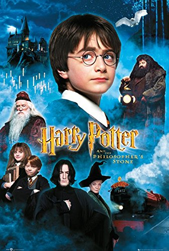 Harry Potter filmplakat i diamond paint