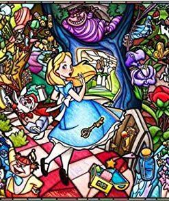 Alice i eventyrland i diamond paint