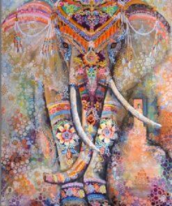 Dekorativ elefant