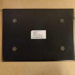 A4 lysplade med beskyttende bagkant