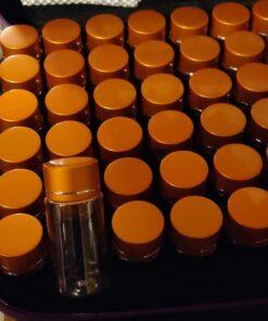 Opbevaringstaske med 60 bøtter (10 ml) 1