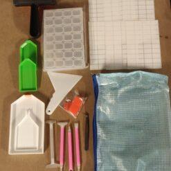 Lille værktøjssæt til diamond paint