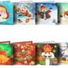 8 julekort med flotte motiver i diamond paint