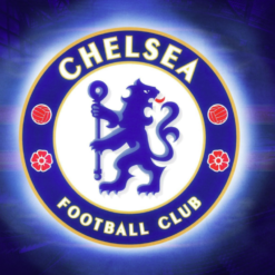 Chelsea logo i diamond paint