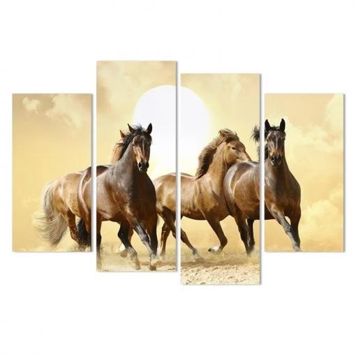 Heste - flere dele i diamond paint