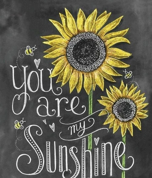 Diamond Painting - You are my sunshine thumbnail