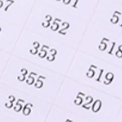 Mærkater til alle diamant-numre (dmc) - A