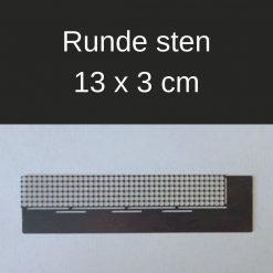 Lineal til runde sten i diamond paint - 13 x 3 cm