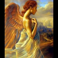 Engel i diamond paint