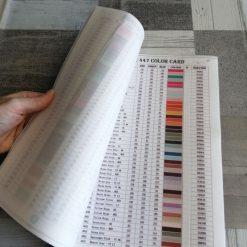 Katalog med farver og dmc-numre til diamond paint