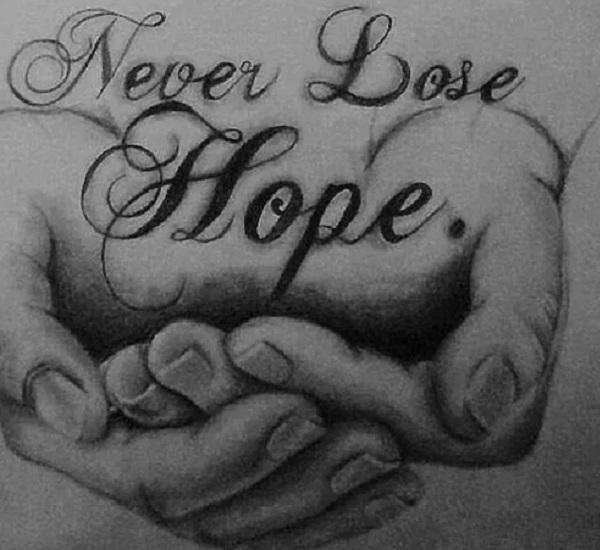 Diamond Painting - Never lose hope thumbnail